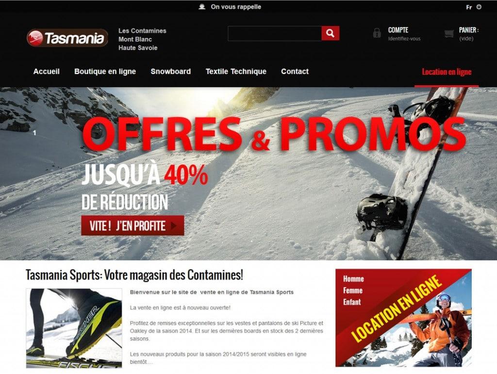6b44774deeda Tasmania Sports - Vente en ligne | Bevouak