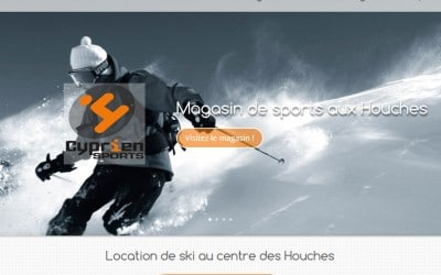 Cyprien Sports Les Houches